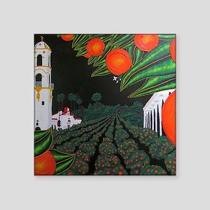 magnet-parade-of-oranges Sticker