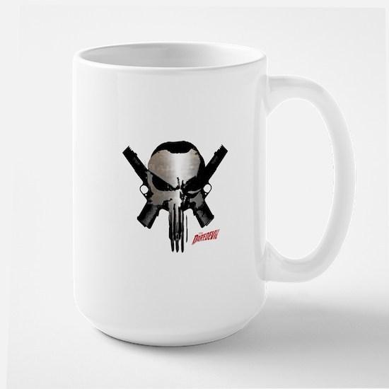 Punisher Skull Guns Large Mug