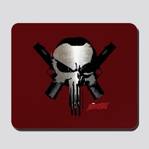 Punisher Skull Guns Mousepad