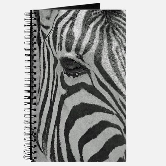 Zebra in Black and White Journal