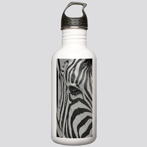 Zebra in Black and Whi Stainless Water Bottle 1.0L
