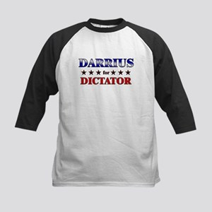 DARRIUS for dictator Kids Baseball Jersey