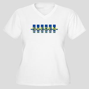 sweden rect Plus Size T-Shirt