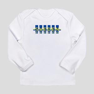 sweden rect Long Sleeve T-Shirt