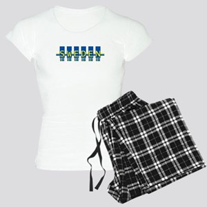 sweden rect Women's Light Pajamas