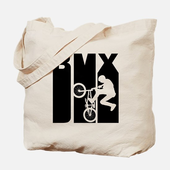 Retro BMX Tote Bag