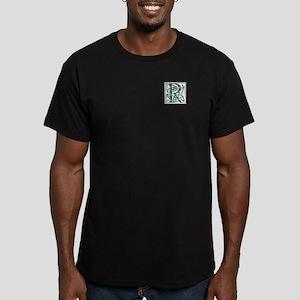 Monogram-Ross hunting Men's Fitted T-Shirt (dark)