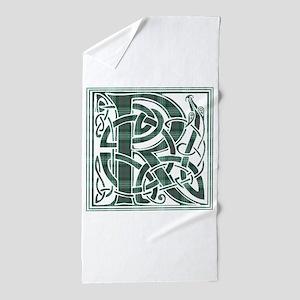 Monogram-Ross hunting Beach Towel
