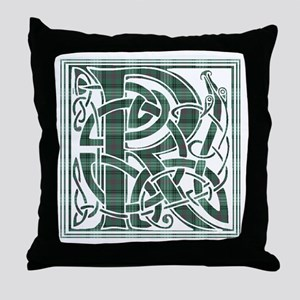 Monogram-Ross hunting Throw Pillow