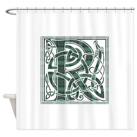 Monogram Ross Hunting Shower Curtain