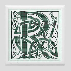 Monogram-Ross hunting Tile Coaster