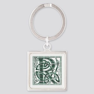 Monogram-Ross hunting Square Keychain