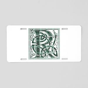 Monogram-Ross hunting Aluminum License Plate