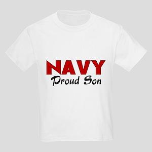 Navy Son (red) Kids Light T-Shirt