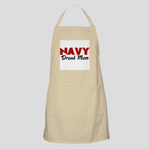 Navy Mom (red) BBQ Apron
