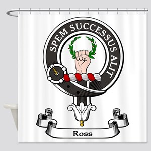 Badge - Ross Shower Curtain