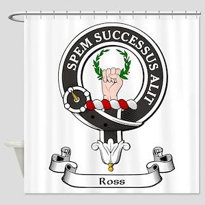 Badge - Ross Shower Curtain