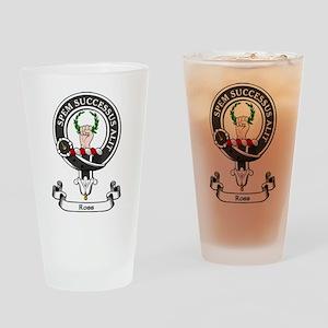 Badge - Ross Drinking Glass