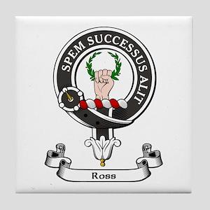Badge - Ross Tile Coaster