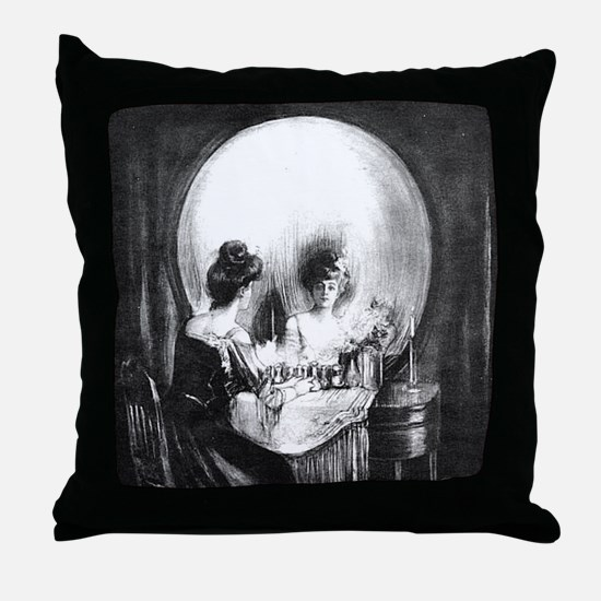 All Is Vanity Throw Pillow