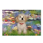 Lilies / Havanese Postcards (Package of 8)