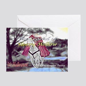 The Legend Of Sleepy Hollow Greeting Cards