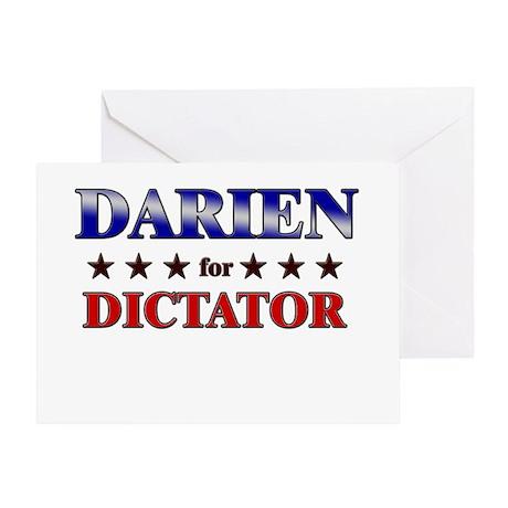 DARIEN for dictator Greeting Card