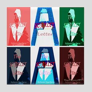 The Scarlet Letter Tile Coaster