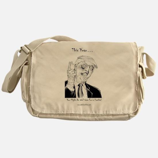 Unique Zombies Messenger Bag