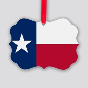 Texas: State Flag of Texas Ornament