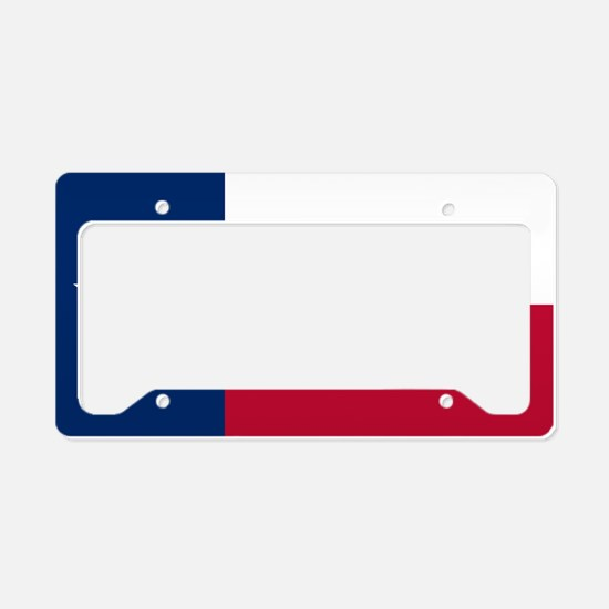 Texas: State Flag of Texas License Plate Holder
