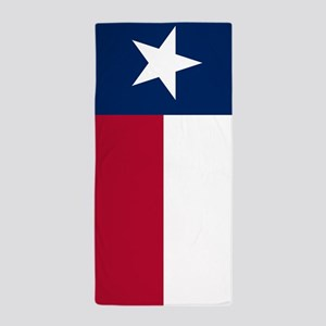 Texas: State Flag of Texas Beach Towel