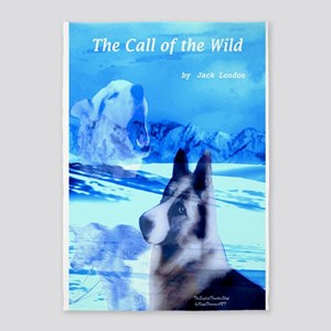 The Call of the Wild 5'x7'Area Rug
