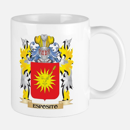 Esposito Coat of Arms - Family Crest Mugs