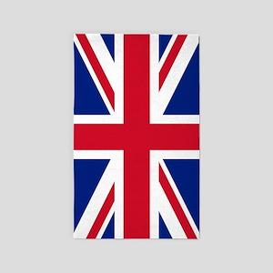 United Kingdom: Union Jack Flag Area Rug