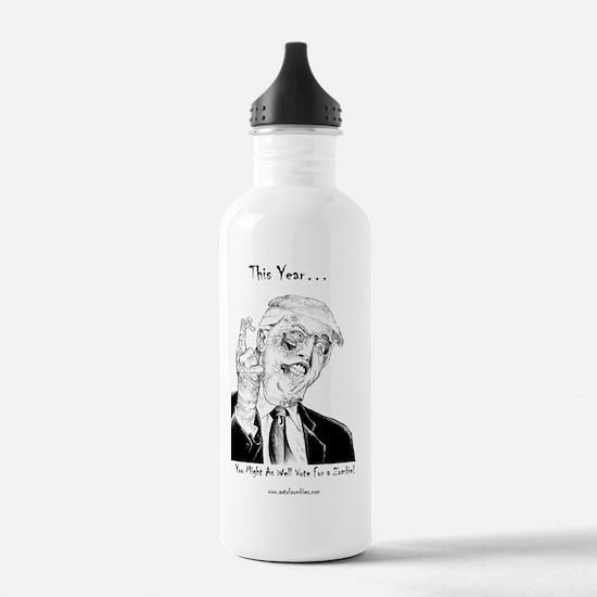 Zombie Trump Water Bottle