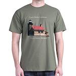 Copper Harbor Lighthouse Dark T-Shirt
