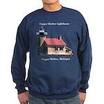 Copper Harbor Lighthouse Sweatshirt (dark)