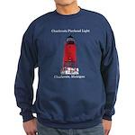 Charlevoix Pierhead Light Sweatshirt (dark)