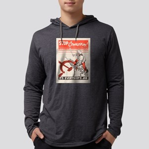Vintage poster - Stop Communis Long Sleeve T-Shirt