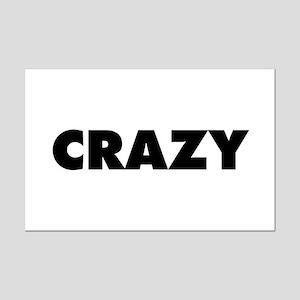 Crazy Mini Poster Print