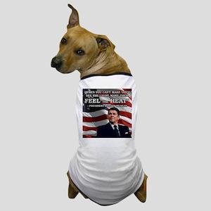 PRES40 FEEL THE HEA... Dog T-Shirt