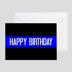 Police: Happy Birthday (The Thin Blu Greeting Card