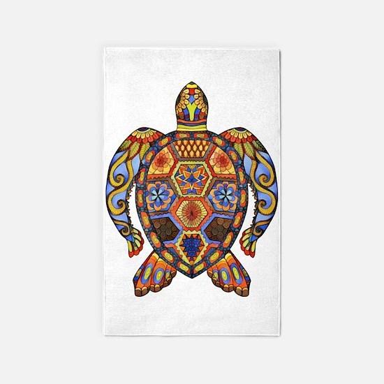 Each Turtle Art Area Rug