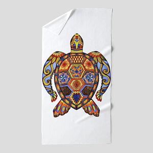 Each Turtle Art Beach Towel