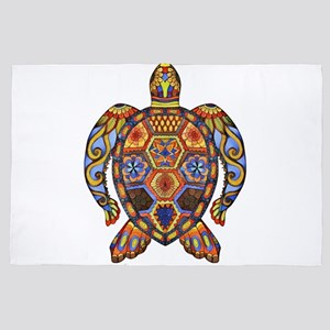 Each Turtle Art 4' x 6' Rug