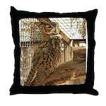 Zoo Owl Items Throw Pillow