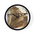 Zoo Owl Items Wall Clock