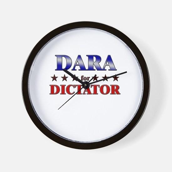 DARA for dictator Wall Clock