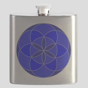 Seed of Life Angel 16 Flask
